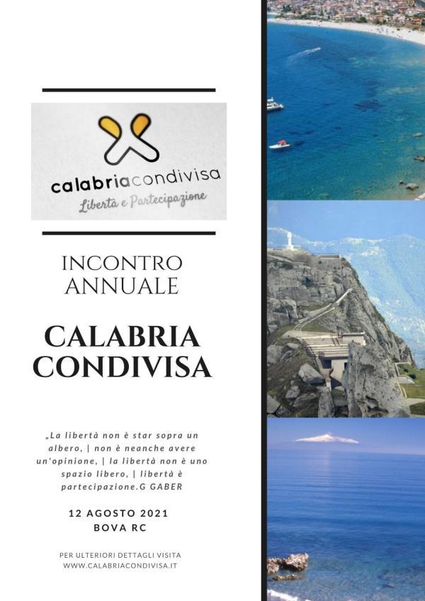 images Domani a Bova l'incontro annuale di Calabria condivisa