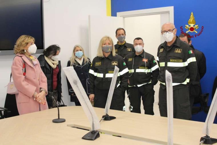 images Il Prefetto di Catanzaro in visita al Centro Polifunzionale Regionale dei Vigili del Fuoco