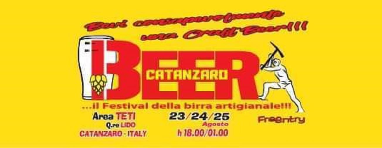 """images Tre giorni di fiumi di birra e non soltanto al """"Beer Catanzaro"""""""