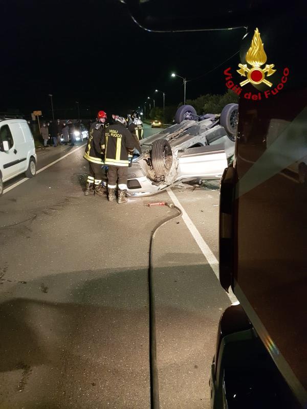 images Scontro fra due auto a Bellino: un ferito