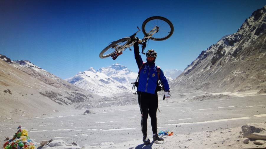 images Il calabrese Bevacqua è l'uomo dei record sull'Himalaya