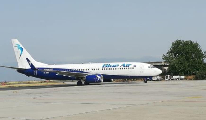 images Aeroporto di Reggio Calabria. Dopo lo stop per la pandemia torna la compagna Blue Air
