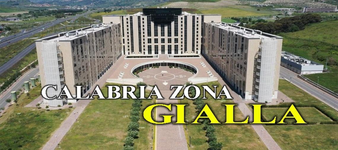 images Calabria zona gialla: le nuove regole in vigore da lunedì