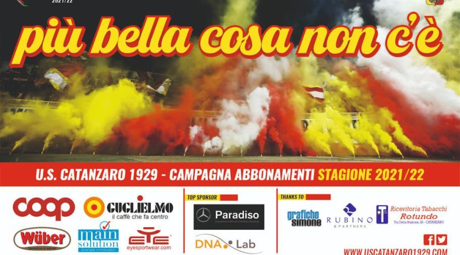 images Us Catanzaro 1929, parte la campagna abbonamenti per la stagione 2021/2022