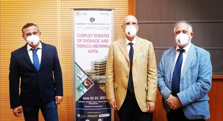 images Catanzaro. Concluso il 7° Simposio Internazionale sulle Patologie aortiche: la Cardiochirurgia calabrese fa sentire la sua voce e la sua importanza