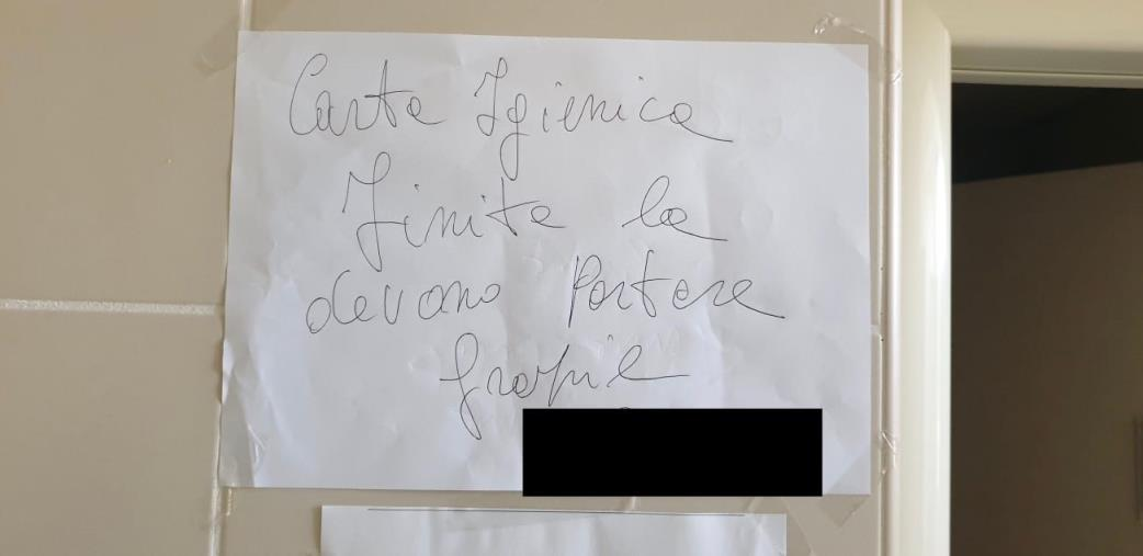 """images Il sindacato CSA-Cisal denuncia: """"Niente carta igienica da una settimana in Regione Calabria. E sta finendo pure il sapone"""""""