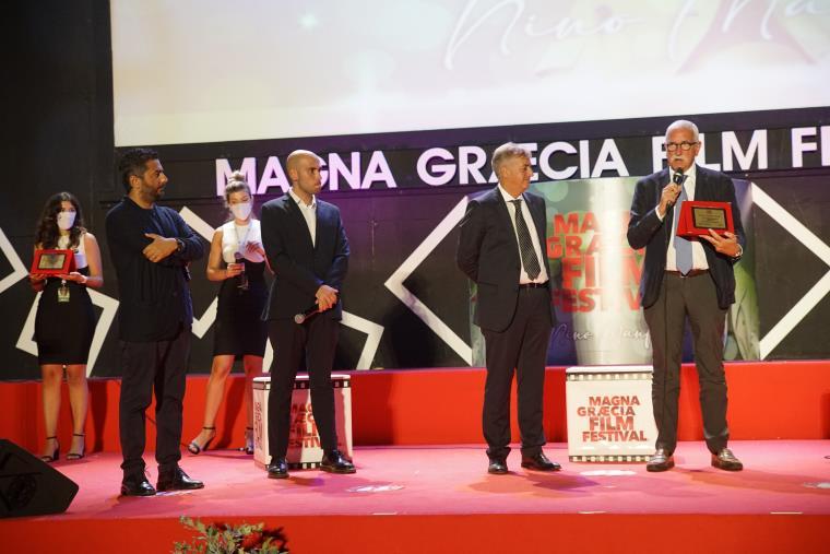 """images MGFF. Stasera la premiazione finale: al """"Perla del porto"""" incontri con Salvo Noè e Safiria  Leccese"""