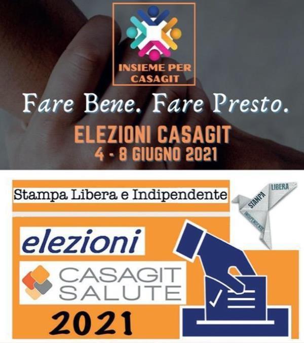images Elezioni Casagit salute 2021, si vota da oggi fino a martedì: i candidati sono Paolo Cambareri e Santa Giannazzo