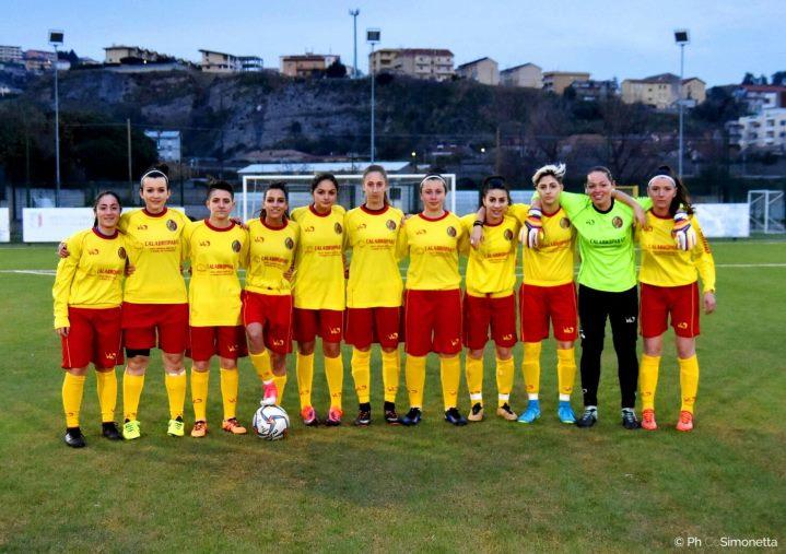 Boom del calcio femminile anche in Calabria