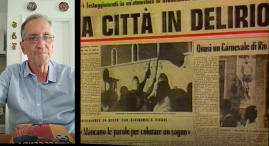 images Catanzaro. 50 anni dalla promozione in Serie A: la partita del secolo raccontata da Sergio Dragone