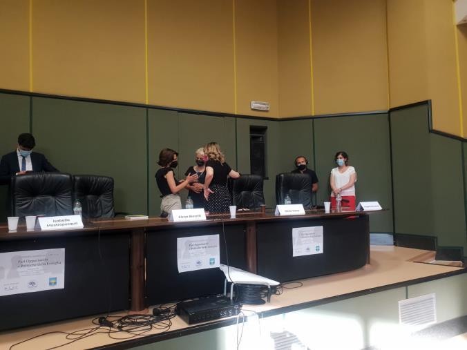 """images Catanzaro. """"Libere donne"""": Caterina Villirillo incontra la ministra Bonetti e chiede una nuova sede per l'associazione"""