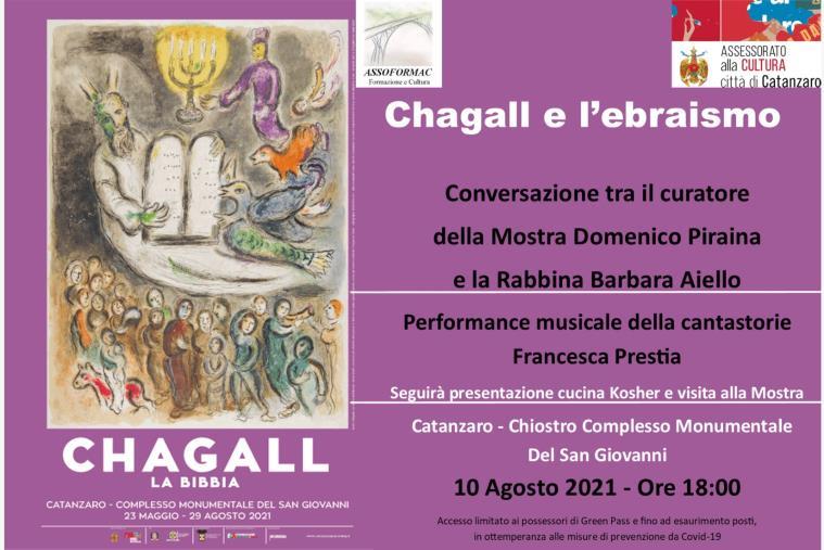 """images """"Chagall. La Bibbia"""", Cardamone: """"Il 10 agosto evento con la rabbina Barbara Aiello e la cantastorie Prestia"""""""