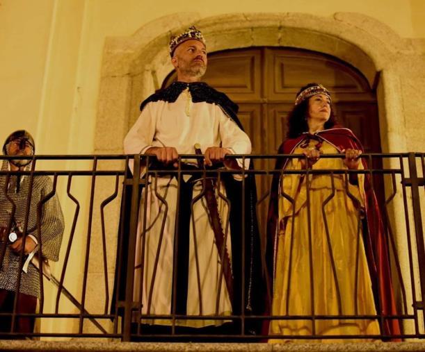 images A Chiaravalle successo per le rievocazioni storiche medievali