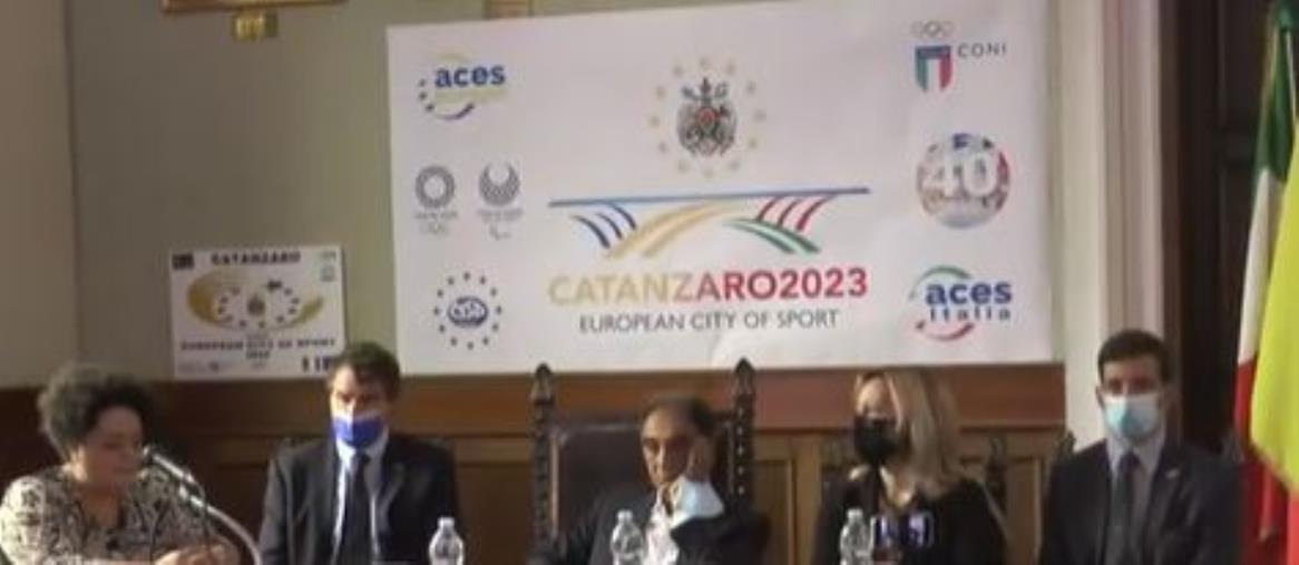 images Catanzaro città europea dello sport 2023, presentata la candidatura