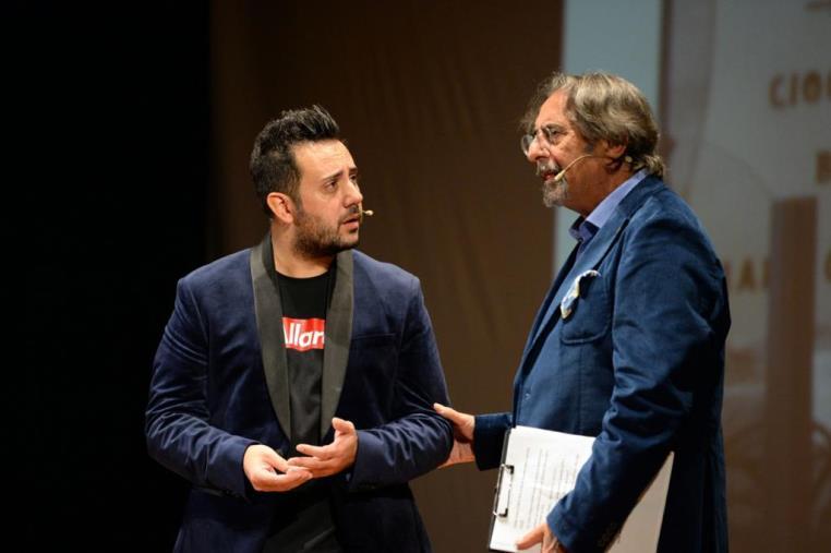 """Franco Cimino racconta Enzo e Ivan Colacino, """"patra e figghju, nello spettacolo tra il teatro e la vita"""""""