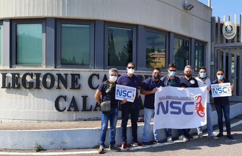 """images Il Nuovo Sindacato Carabinieri alla Legione di Catanzaro. Riccio: """"I frutti della nostra azione sindacale cominciano ad essere maturi"""""""