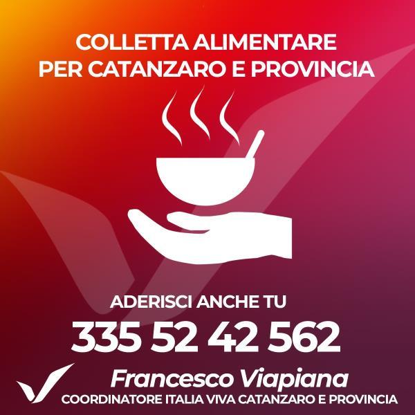 images Coronavirus. Parte la colletta alimentare per Catanzaro e provincia. Viapiana (Italia Viva) cerca adesioni e ringrazia chi ha già contribuito