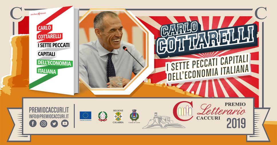 images Cottarelli vince il premio Caccuri 2019