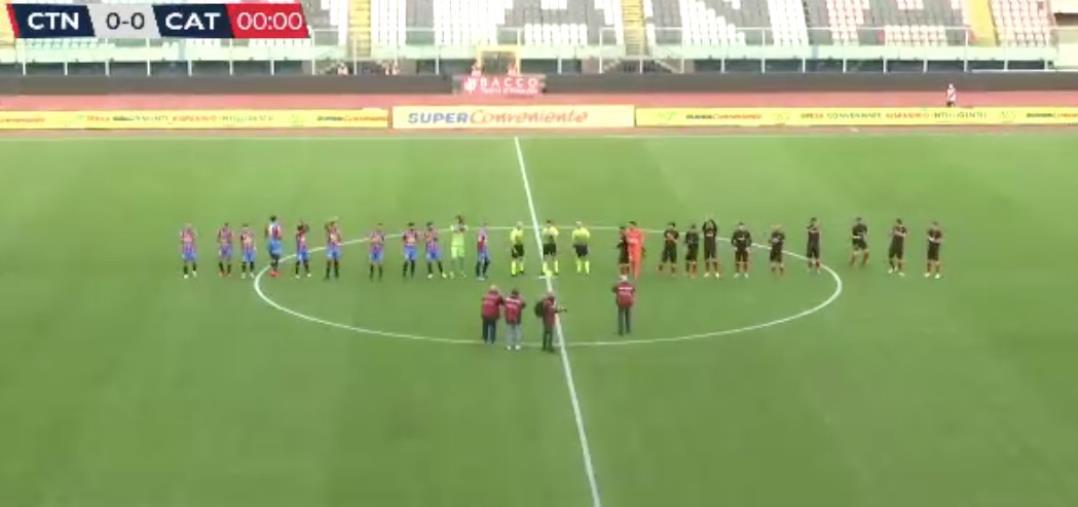 images Catania vs Catanzaro: 1-1 finale. Aquile rimontate a pochi minuti dal novantesimo