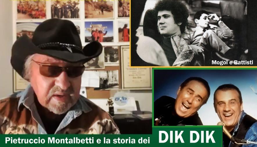 La storia dei Dik Dik raccontata da uno dei fondatori Pietruccio Montalbetti, oggi in live streaming su Cz Village