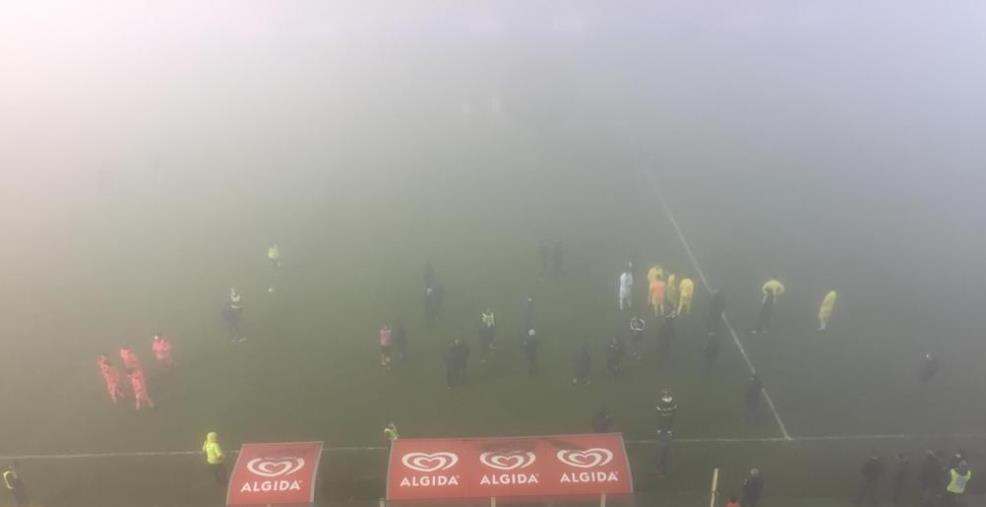 images Us Catanzaro 1929, la nebbia viene incontro alle Aquile e rinvia un match complicato