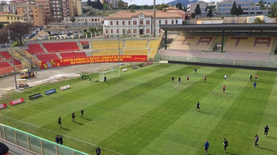 images Play-off. Catanzaro e Albinoleffe in campo alle 17.30: le formazioni ufficiali