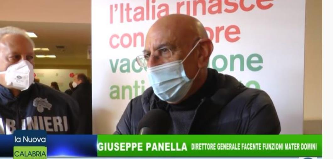 images V. Day. Intervista al Dg facenti funzione del Materi Domini, Giuseppe Panella