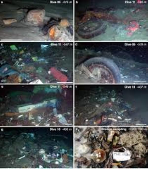 Stretto di Messina: è record mondiale di rifiuti sul fondale