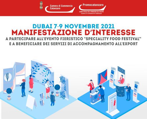 images Spazi espositivi e servizi, la Camera di commercio di Catanzaro accompagna a Dubai le imprese locali