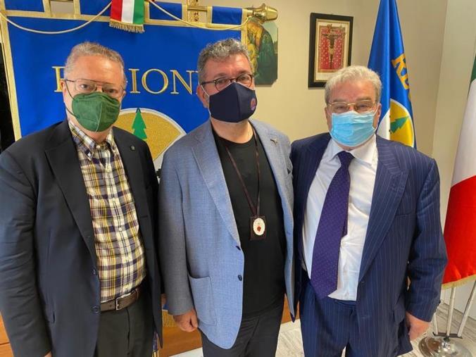 images Dulbecco Institute, Spirlì firma protocollo d'intesa (VIDEO)