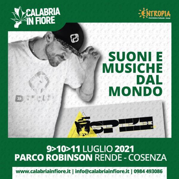 """images """"Calabria In Fiore"""", dal 9 all'11 luglio il festival sulla canapa nell'area urbana Rende-Cosenza"""