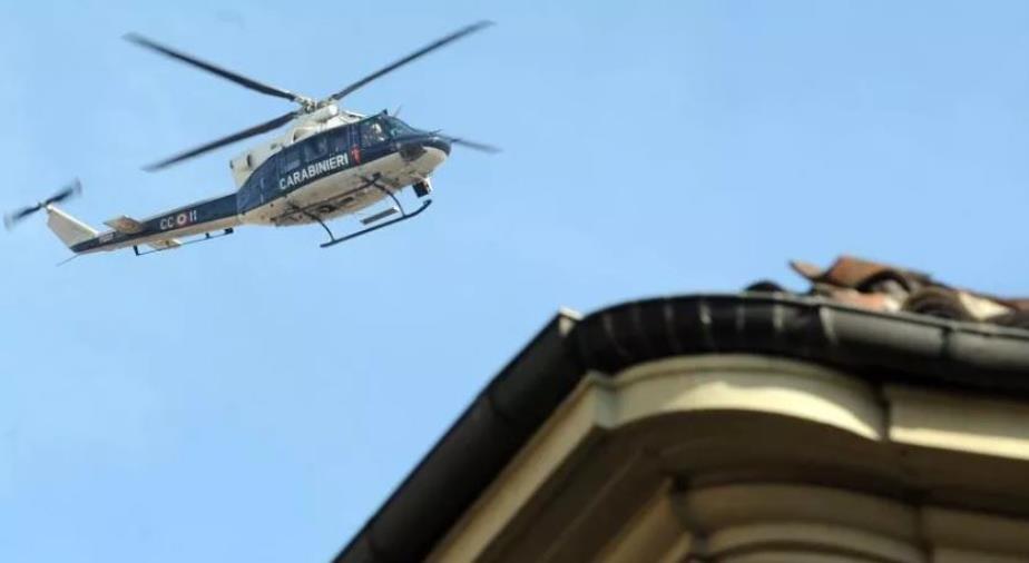images Elicotteri in volo sulla città, nessuna retata. Era per il trasporto delle banconote alla Banca d'Italia (VIDEO)