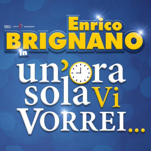 """images Summer Arena, Enrico Brignano il 24 agosto sbarcherà a Soverato con """"Un'ora sola vi vorrei"""""""