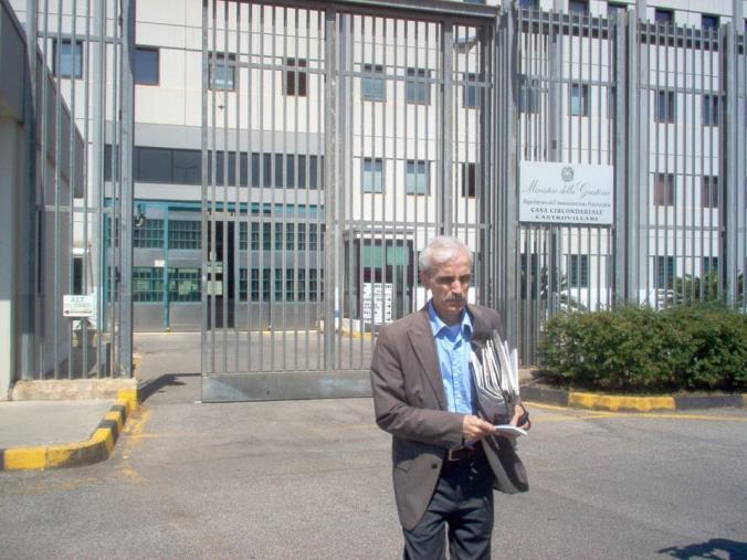 """images Focolaio nel carcere di Catanzaro. Corbelli (Diritti Civili): """"Detenuti e personale penitenziario, categorie a rischio, da vaccinare subito"""""""