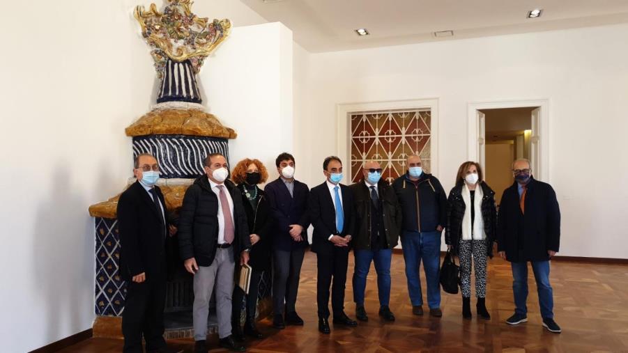 """images Catanzaro. Aperta al pubblico l'ala comunale di Palazzo Fazzari: """"Un simbolo del centro storico"""""""