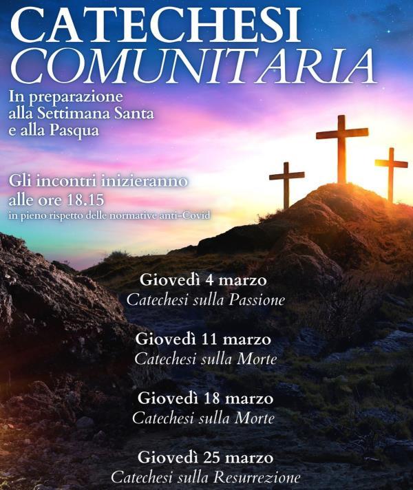 images Catanzaro. Concluso il Ciclo di Conferenze in preparazione alla Settimana Santa nella parrocchia Madonna di Pompei
