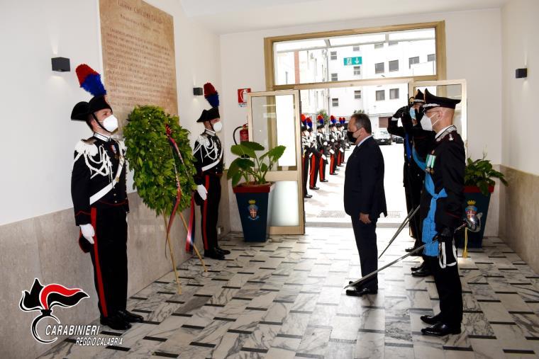 images Reggio Calabria. L'Arma dei Carabinieri festeggia il 207° Annuale della fondazione pronta a raccogliere le nuove sfide