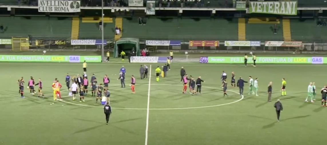 """images Avellino vs Catanzaro: 0-0 finale. Le Aquile escono indenni dal """"Partenio"""" dopo una prestazione attenta"""