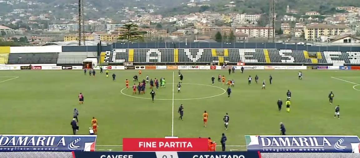 images Cavese vs Catanzaro: 0-1 finale. Le Aquile vincono di misura e scavalcano il Bari al terzo posto