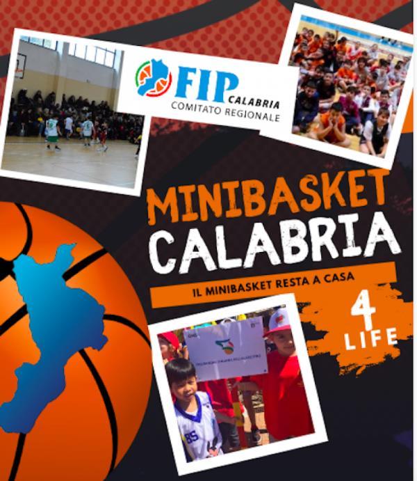 """images Fip Calabria lancia l'iniziativa """"Il Minibasket gioca a casa"""""""