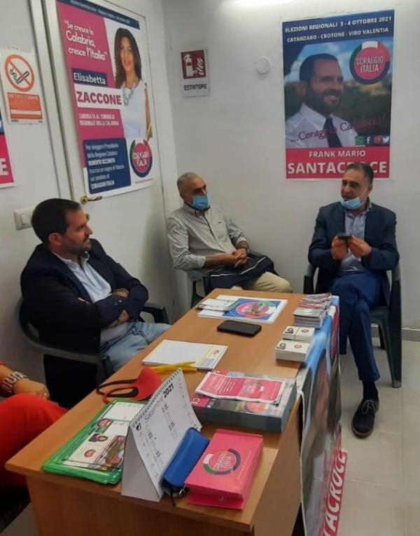 Regionali. Inaugurata a Cortale la segreteria politica di Frank Mario Santacroce