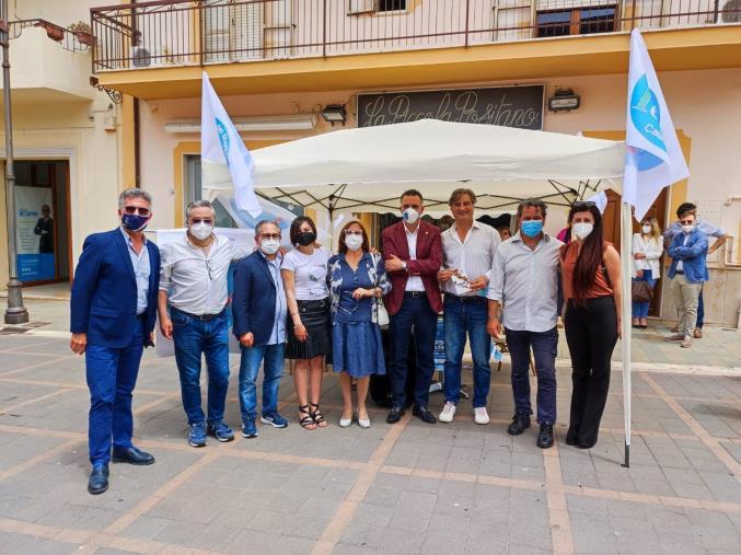 images Scalea. Grande partecipazione alla campagna tesseramento di Italia del Meridione