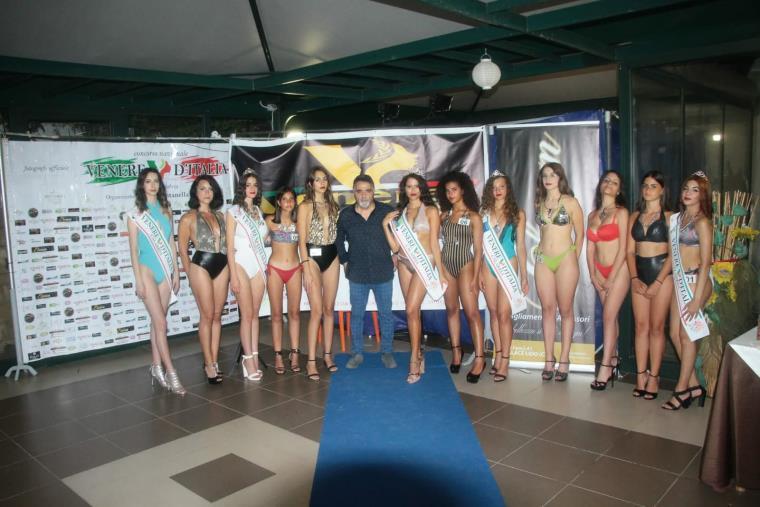 images Venere D'Italia. Tappa a Catanzaro, premiate 5 ragazze