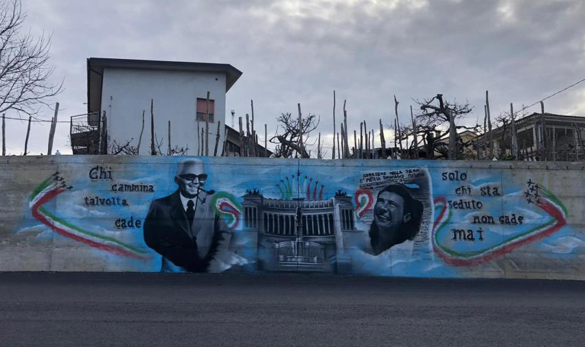 images Un murales per omaggiare le conquiste dell'Italia e delle donne, a Girifalco
