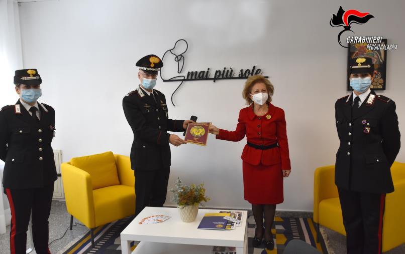 """images Reggio Calabria. Inaugurata al Comando provinciale dei carabinieri la """"Stanza tutta per sè""""  per sostenere le donne vittime di violenze"""