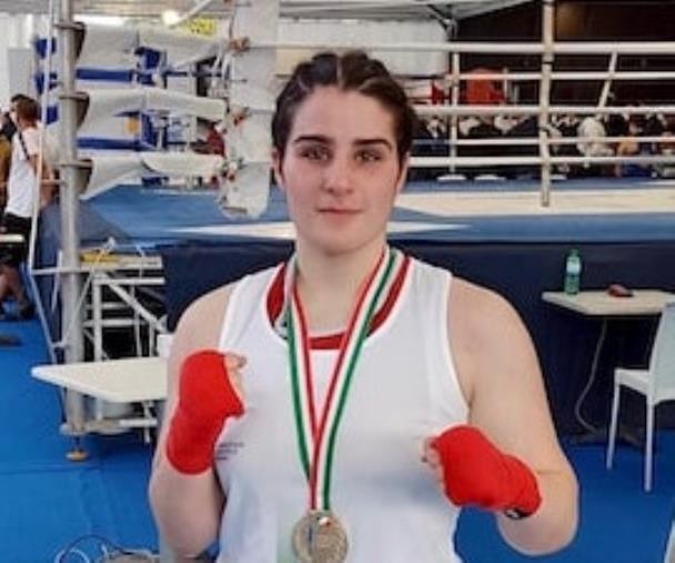 images Pugilato. La 17enne Francesca Pia De Fazio, lametina, è la campionessa italiana Youth 75 kg