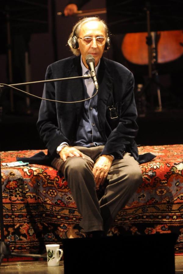 """images Sergio Dragone ricorda Battiato: """"Non ho perso uno dei 4 concerti a Catanzaro, perle da conservare gelosamente in fondo all'anima"""""""