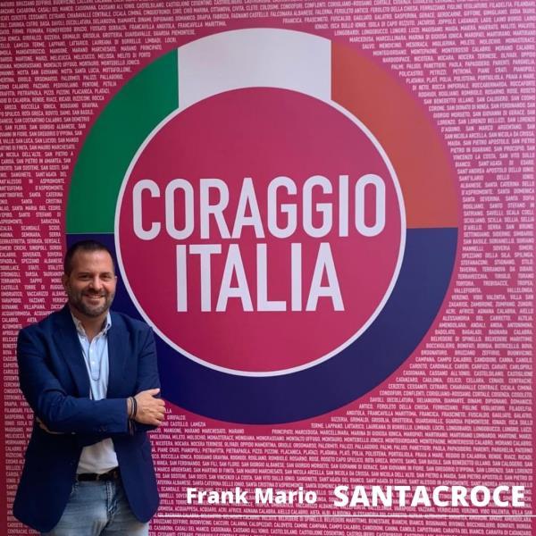 """images Santacroce (Coraggio Italia): """"L'unica vera opportunità di sviluppo strategico della Calabria centrale è la realizzazione dell'asse metropolitano Due Mari"""""""