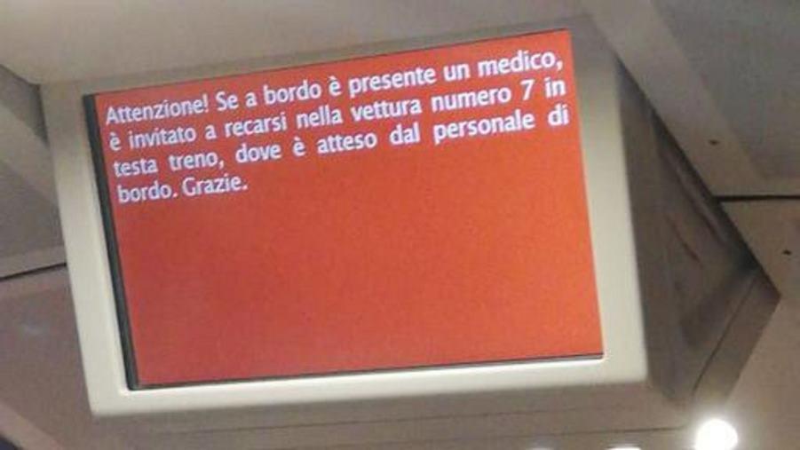 images Aria condizionata fuori uso sul Frecciarossa Salerno-Venezia Passeggeri colti da malore