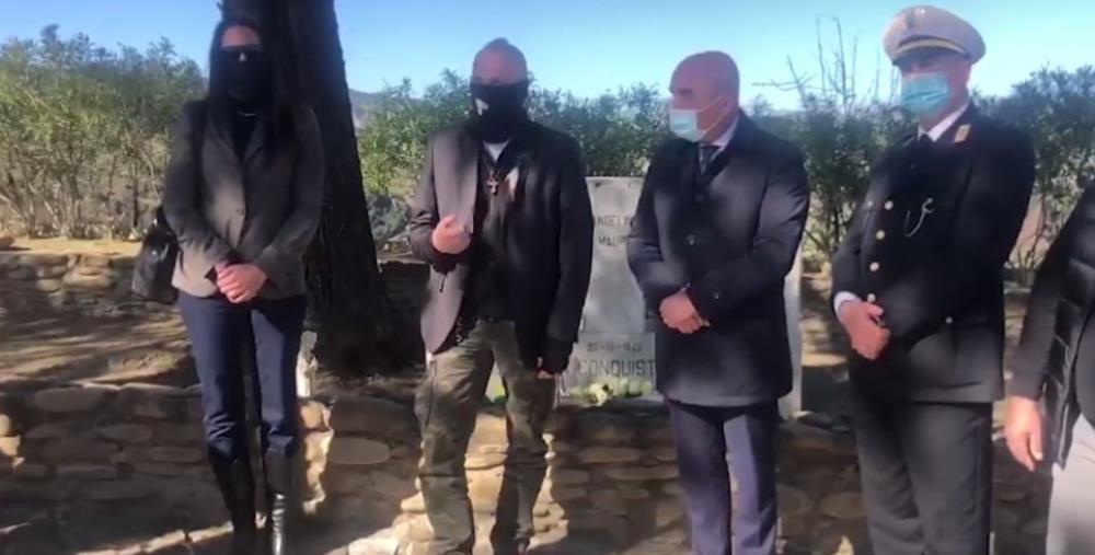 """images De Caprio a Melissa rende omaggio ai morti delle lotte contadine: """"Dovere morale onorare le vittime di soprusi"""" (VIDEO)"""